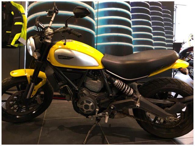 Ducati Scrambler 800 Icon 2015 16 A Firenze Fi Autotarget
