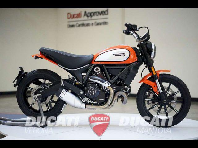 Ducati Scrambler 800 Icon Tangerine Red A Verona Vr Autotarget